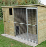 Wooden-Kennel