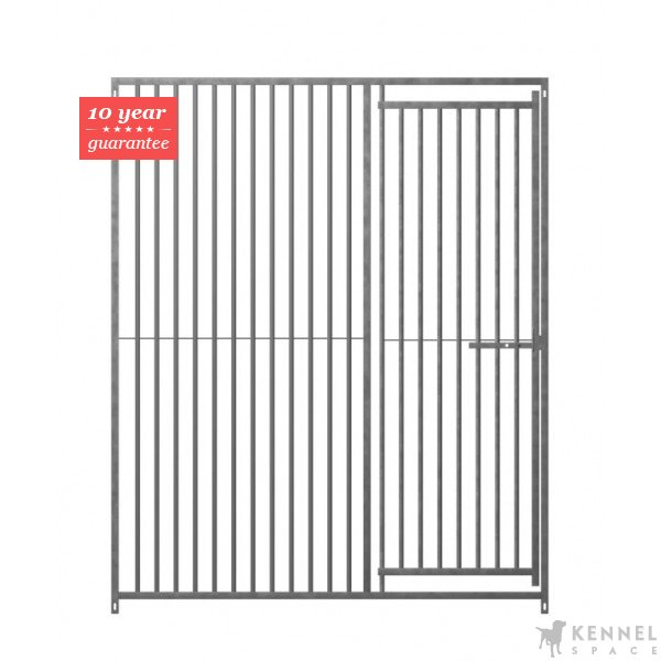 ... Gap Between Bars Door Right Dog Run Panel 1.84m (6ft) Highu003cbr /u003eu003cbr  /u003eThese Top Quality Hot Dipped Galvanised Dog Panels For The Construction  Of Dog ...
